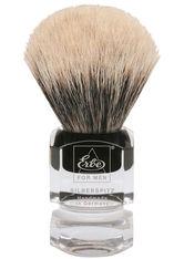 Becker Manicure Shaving Shop Rasierpinsel Rasierpinsel Silberspitz, Plastikgriff eckig klein 1 Stk.