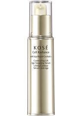 Kosé Cell Radiance Soja Repair Cocktail Contouring Lift Age-Targeting Serum 30 ml Gesichtsserum
