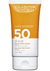 Clarins Gel-en-Huile Solaire Corps UVB/UVA 50 150 ml Sonnengel