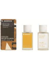 Korres Natural Products White Tea, Bergamot, Freesia Eau de Toilette Spray 50 ml