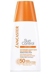 Lancaster Sun Control Anti-Wrinkles & Dark Spots Sun Sensitive Skin Radiant Glow Fluid SPF 50