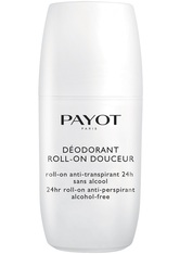 PAYOT - Payot Pure Body Deodorant Ultra Douceur - Roll-on Deo 75 ml Deodorant Roll-On - Roll-On Deo