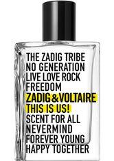 Zadig & Voltaire This is Us! Eau de Toilette (EdT) 30 ml Parfüm