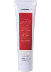KORRES Peelings & Masken Wild Rose - Exfolierende Reinigungscreme Gesichtspeeling 150.0 ml