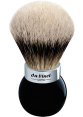 DA VINCI - Da Vinci Uomo Rasierpinsel Dachshaar Silberspitzen, Kugelgriff Nr. 25 1 Stk. - Rasier Tools