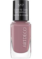 Artdeco Color & Care Nail Lacquer 517 - cosy mauve, 517 - cosy mauve