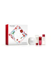 SHISEIDO - Shiseido Gesichtspflege Essential Energy Geschenkset Moisturizing Cream 50 ml + Clarifying Cleansing Foam 15 ml + Treatment Softener 30 ml + Ultimune Power Infusin Concentrate 5 ml 1 Stk. - PFLEGESETS