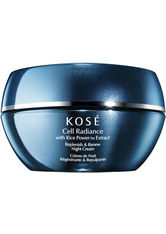 KOSÉ - KOSÉ Cell Radiance Produkte KOSÉ Cell Radiance Produkte Replenish & Renew Night Cream 40ml Gesichtscreme 40.0 ml - Nachtpflege