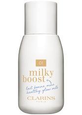 Clarins Milky Boost 01 milky cream 50 ml Flüssige Foundation