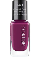 Artdeco Color & Care Nail Lacquer 540 - blueberry juice, 540 - blueberry juice