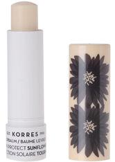 Korres Gesichtspflege Lippenpflege Sunflower Sun Protect Lip Balm SPF 20 5 ml