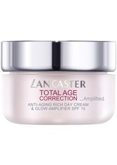 Lancaster Pflege Total Age Correction _Amplified Anti-Aging Rich Day Cream & Glow Amplifier 50 ml
