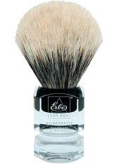 Becker Manicure Shaving Shop Rasierpinsel Rasierpinsel Silberspitz, Plastikgriff eckig groß 1 Stk.