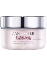 LANCASTER - Lancaster Pflege Total Age Correction _Amplified Anti-Aging Day Cream & Glow Amplifier 50 ml - TAGESPFLEGE