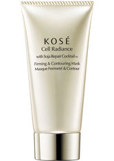KOSÉ Cell Radiance Soja Repair Cocktail with Soja Firming & Contouring Mask 75 ml Gesichtsmaske
