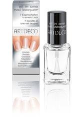 ARTDECO - ARTDECO Nail Care All in One Nagellack  10 ml Transparent - BASE & TOP COAT