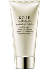 KOSÉ Cell Radiance Soja Repair Cocktail with Soja Anti-Wrinkle Firming Neck Cream 75 ml Dekolletécreme