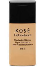 Kosé Illuminated Skincare SPF 15 Flüssige Foundation  30 ml NR. 201