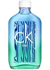 Aktion - Calvin Klein ck one Summer Limited Edition 2021 Eau de Toilette (EdT) 100 ml Parfüm