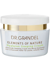 Dr. Grandel Elements of Nature Hyaluron Sleeping Cream 50 ml Nachtcreme