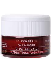 Korres natural products Wild Rose - Tagescreme für strahlenden Teint und erste Falten - normale bis Mischhaut