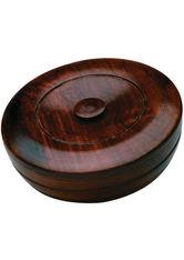 Taylor of old Bond Street Herrenpflege Sandelholz-Serie Sandalwood Herbal Shaving Hard-Soap in Wooden Bowl 100 g