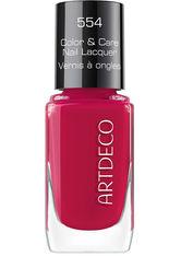 ARTDECO Color & Care  Nagellack  10 ml Nr. 554 - Beautiful Raspberry