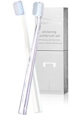 Swiss Smile Pflege Zahnpflege Whitening Tooth Brush Set 2 Whitening Zahnbürsten Medium Soft transparent & weiss 1 Stk.