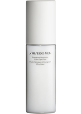 Shiseido Men Energizing Moisturizing Extra Light Fluid 100 ml Reinigungsemulsion