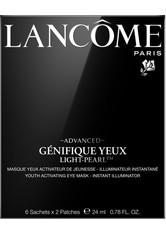 Lancôme Gesichtspflege Augenpflege Advanced Génifique Yeux Mask Light Pearl 24 ml
