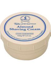 Taylor of old Bond Street Herrenpflege Sandelholz-Serie Shaving Cream Almond 1 Stk.