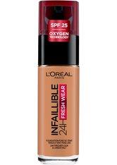 L'Oréal Paris Infaillible 24H Fresh Wear Make-up 320 Toffee Foundation 30ml Flüssige Foundation