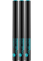 CATRICE - Catrice Eyeliner »Liquid Liner Waterproof«, 3er-Pack - Eyeliner