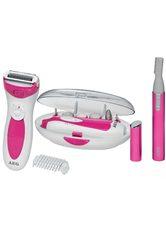 AEG - AEG Maniküre-Pediküre-Set »SDA LBS 5676 Lady-Beauty-Set weiß/pink« - NAGELPFLEGE