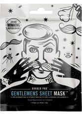 BARBER PRO Gesichtsmaske »GENTLEMEN'S SHEET MASK™«, Pflege und Anti-Aging
