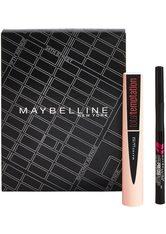 MAYBELLINE - Maybelline New York! Total Temptation Mascara und Hyper Precise Liquid Liner Augen Make-up Set  no_color - MAKEUP SETS