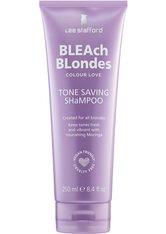 Lee Stafford Haarshampoo »Bleach Blonde Colour Love Tone Saving Shampoo«