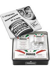 PRORASO Rasier-Set »Vintage Toccasana«, 3-tlg., White Sensitive Serie