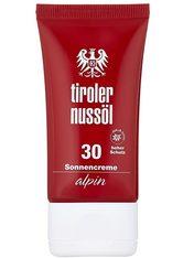 TIROLER NUSSÖL - Tiroler Nussöl Sonnencreme »Alpin«, 40 ml - SONNENCREME