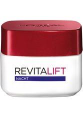 L'Oréal Paris Revitalift Nachtpflege, mit Pro-Elastin und Aprikosenkernöl Gesichtscreme 50 ml Nachtcreme