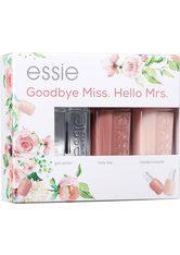 ESSIE - essie Bridal Coffret Goodbye Miss. Hello Mrs. Nagellack-Set  no_color - NAGELLACK