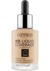 Catrice Teint Make-up HD Liquid Coverage Foundation Nr. 038 Honey Beige 30 ml