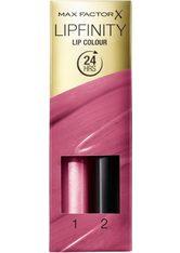 Max Factor Lipfinity Lip Colour Lipstick 2-step Long Lasting 4g 40 Vivacious