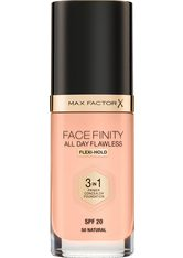 MAX FACTOR - Max Factor Face Finity All Day Flawless 3 in 1 Foundation 30ml 50 Natural (Light, Cool) - FOUNDATION