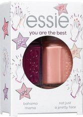 essie Nagellack Geschenkset you're the best (Nr. 44 bahama mama 13,5 ml, Nr. 11 not just a pretty face 13,5 ml) Nagellack Set 1Stk Nagellack-Set