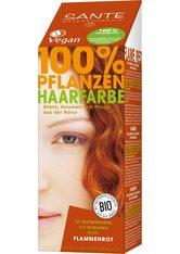Sante Produkte Haarfarbe - Flammenrot 100g Pflanzenhaarfarbe 100.0 g