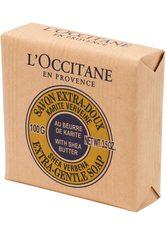 L'OCCITANE Seife »Karité Savon Extra-Doux Verveine«, gelb, 100 g, gelb