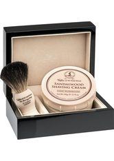 Taylor of Old Bond Street Sandalwood Lacquered Wooden Gift Box Pure Badger Rasierset