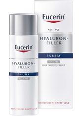 Eucerin Hyaluron-Filler Urea Nachtpflege Creme + gratis Eucerin UreaRepair PLUS Lotion 10% (150 ml) 50 Milliliter