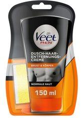 Veet Men Men Dusch-Haarentfernungs-Creme Enthaarungsmittel 150.0 ml